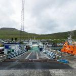 The ferry Sam Borðoy - Kalsoy, Die Fähre SAM Borðoy - Kalsoy