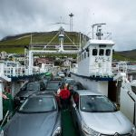 Cars on board the ferry Sam Sam Borðoy - Kalsoy, Autos auf der Fähre Sam Borðoy - Kalsoy