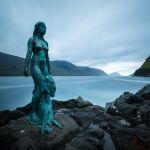 Sealwoman in Mikladalur, Färöer-Inseln