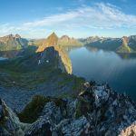 Aussicht vom Gipfel des Hesten | Senja | Lofoten
