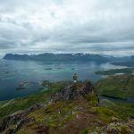 Aussicht vom Gipfel des Sukkertoppen | Senja | Lofoten